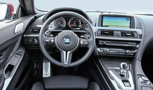 BMW M6 Coupé interior