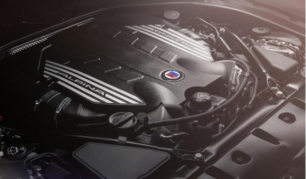 Motor del Alpina BMW B6 Bi-Turbo Gran Coupe