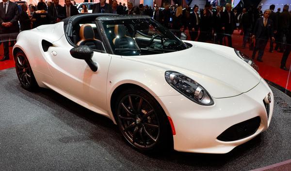 Salón de Ginebra 2014 Alfa Romeo 4C Spider