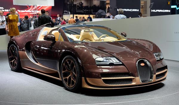 Salón de Ginebra 2014 Bugatti Veyron Vitesse Rembrandt