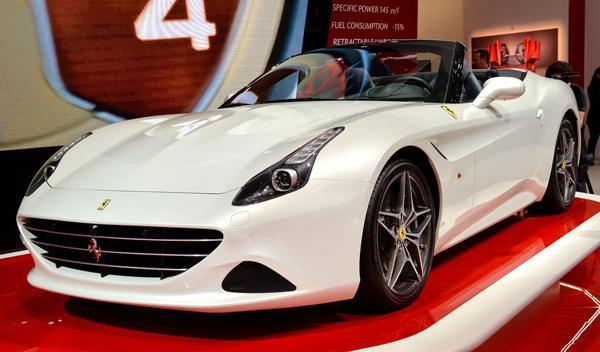 Salón de Ginebra 2014 Ferrari California T
