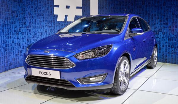 Salón de Ginebra 2014 Ford Focus