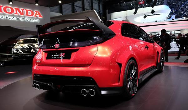 Salón de Ginebra 2014 Honda Civic Type-R