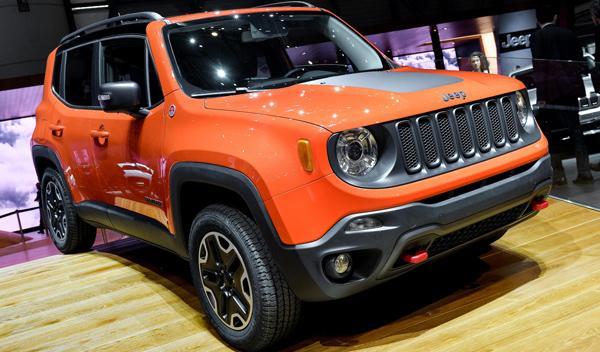 Salón de Ginebra 2014 Jeep Renegade
