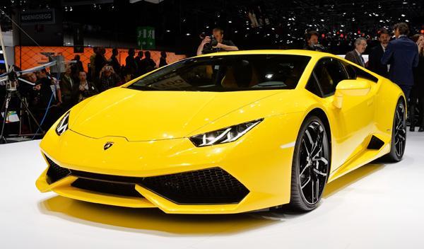 Salón de Ginebra 2014 Lamborghini Huracán
