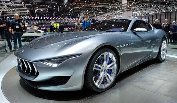 Salón de Ginebra 2014 Maserati Alfieri Concept