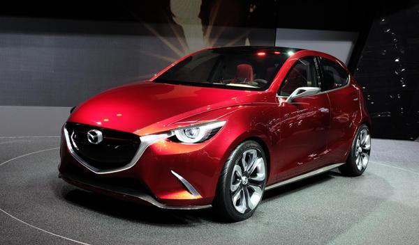 Salón de Ginebra 2014 Mazda Hazumi