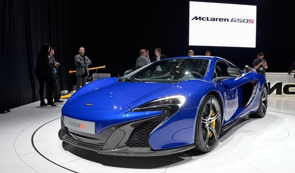 Salón de Ginebra 2014 McLaren 650S