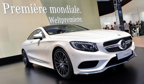 Salón de Ginebra 2014 Mercedes Clase S Coupe