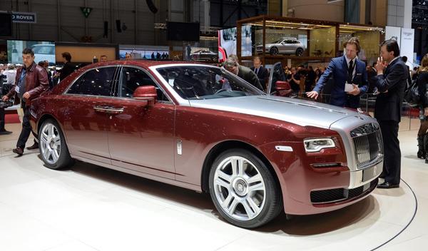 Salón de Ginebra 2014 Rolls Royce Ghost Series II