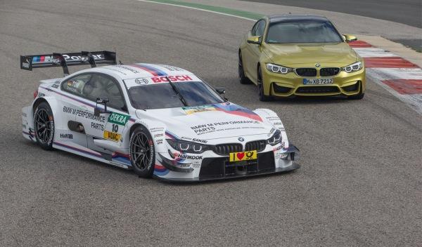 BMW M4 DTM y BMW M4 Coupé