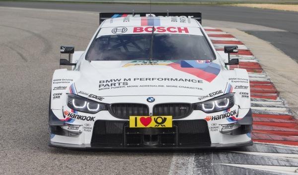 BMW M4 DTM 2014 frontal