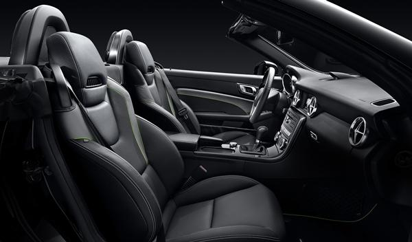 Mercedes SLK CarbonLOOK Edition asientos