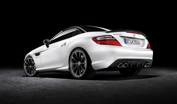 Mercedes SL 2LOOK Edition trasera
