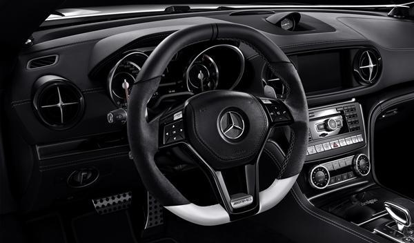 Mercedes SL 2LOOK Edition interior