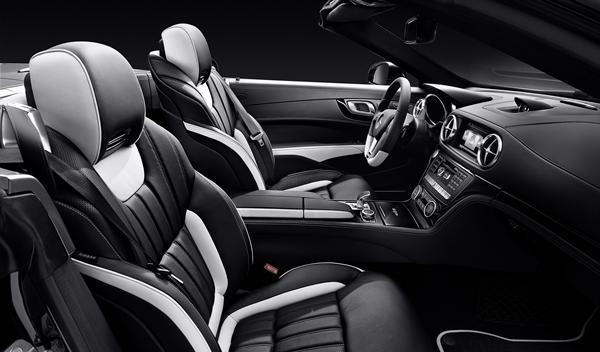Mercedes SL 2LOOK Edition asientos