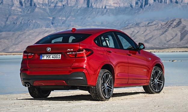 BMW X4 2014 trasera