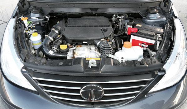 Motor diésel del Tata Vista