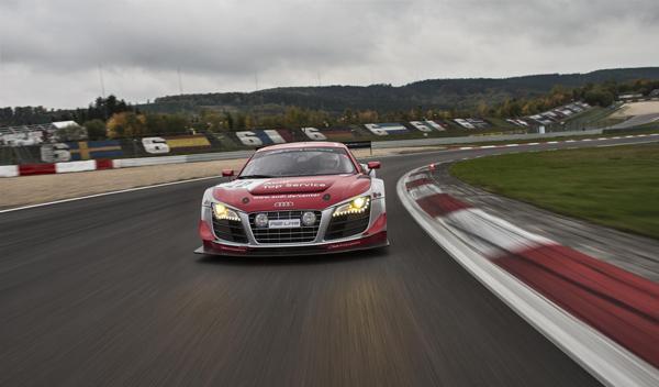 Felix Baumgartner Audi R8 LMS