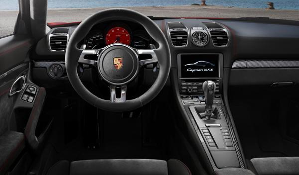 Porsche Cayman GTS interior