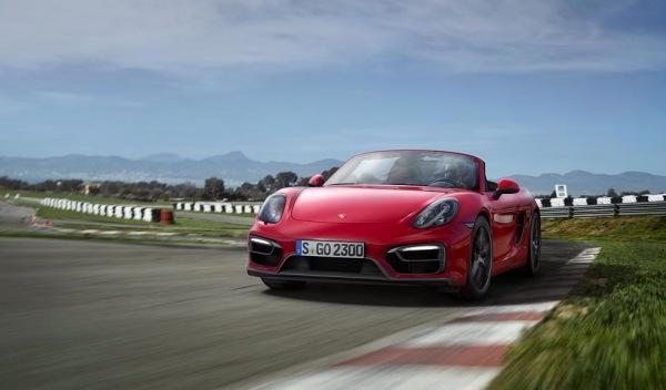 Porsche Boxster GTS frontal