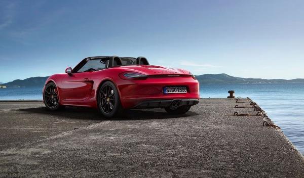 Porsche Boxster GTS trasera