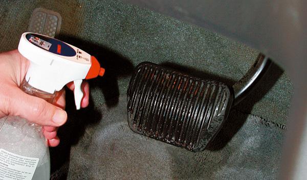 limpieza del coche limpieza plastico