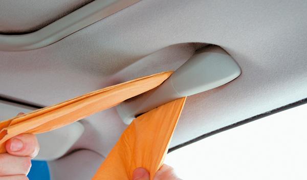 limpieza del coche detalles interior