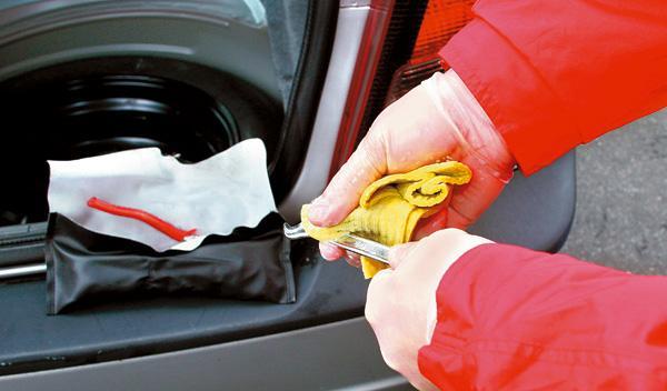limpieza del coche herramientas