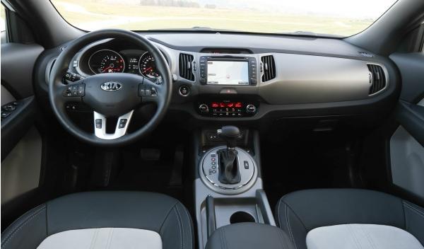 Interior del Kia Sportage 2014