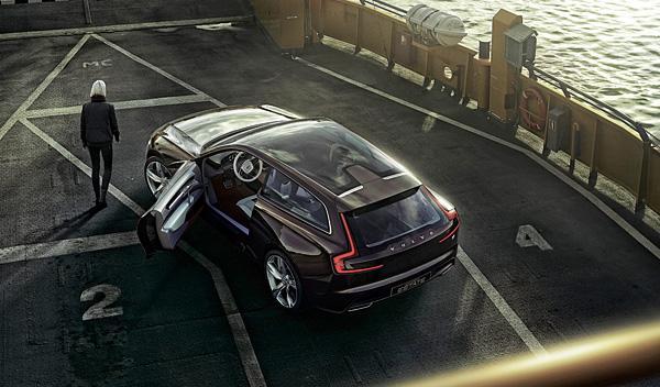Volvo Concept Estate techo