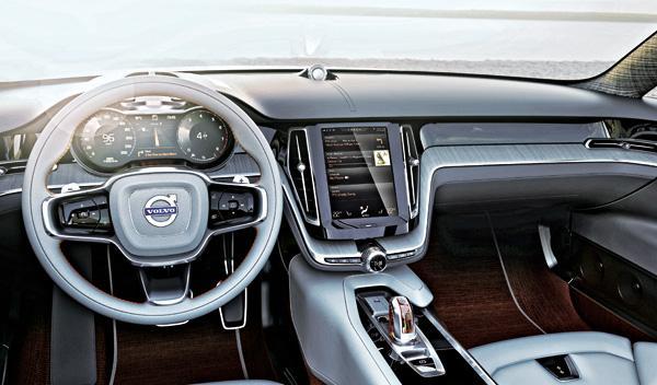 Volvo Concept Estate salpicadero