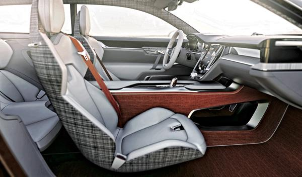 Volvo Concept Estate interior