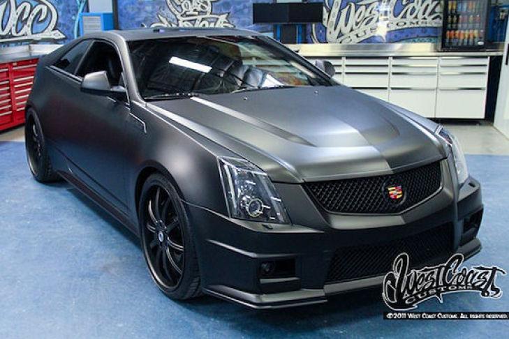 Cadillac CTS-V Justin Bieber