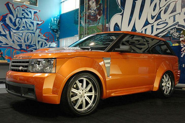 Range Rover de dos puertas