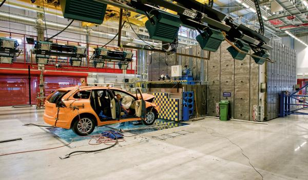 Crash Test Volvo