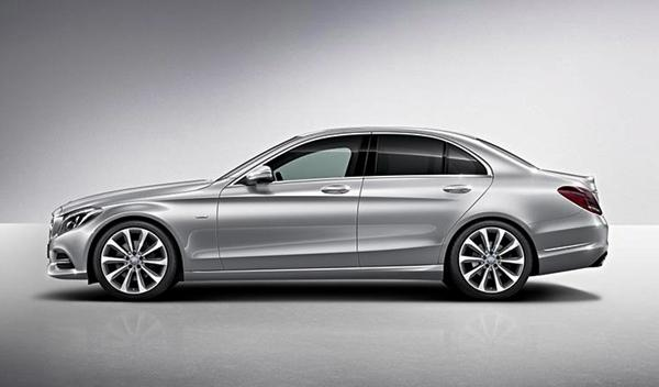 Mercedes Clase C Edition 1 lateral
