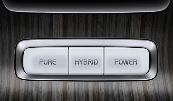 Volvo V60 D6 híbrido modos conducción