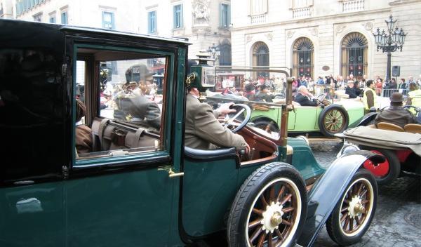 El coche del Titanic en la película de James Cameron
