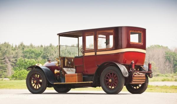 Mercedes Town Car 1912 encargado por John Jacob Astor IV