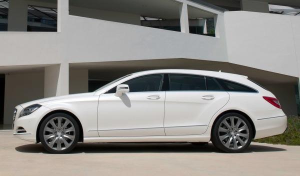 Mercedes CLS Shooting Brake: se sale del camino
