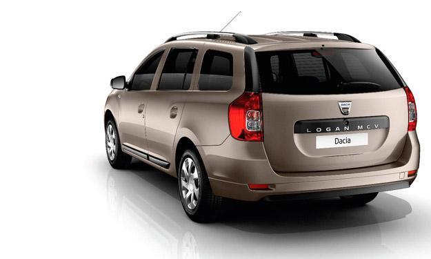 Dacia Logan MCV longitud