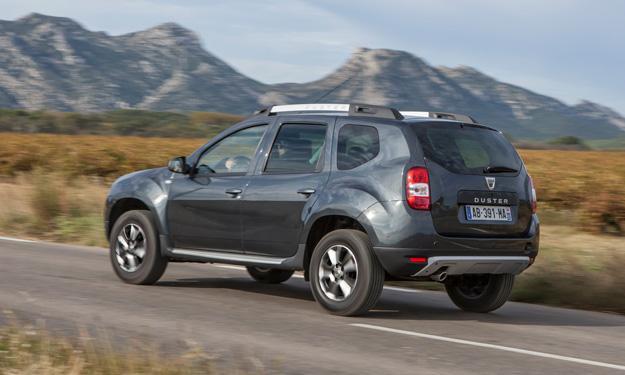 Dacia Duster 2013 trasera