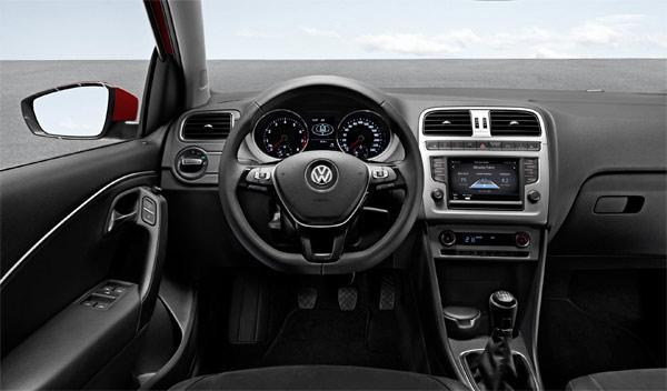 Volkswagen Polo 2014 consola