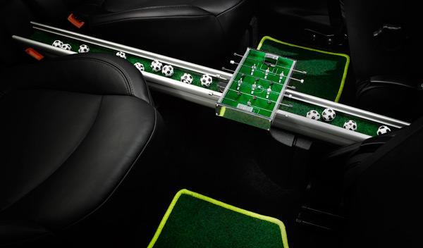 Mini Paceman GoalCooper interior