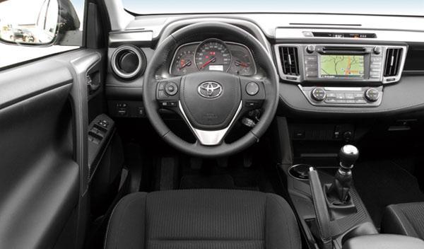 Toyota RAV4 120D Advance 20 Aniversario interior