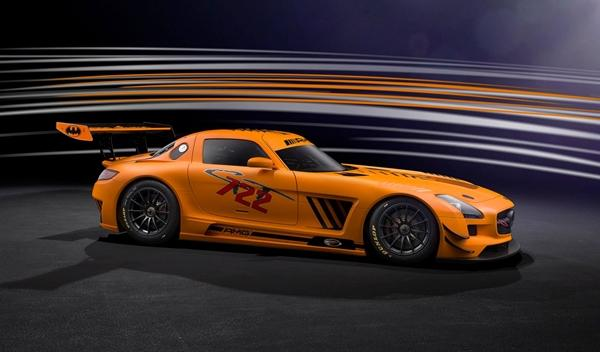 Mercedes SLS AMG GT3 45th Anniversary por Sievers Tuning lateral