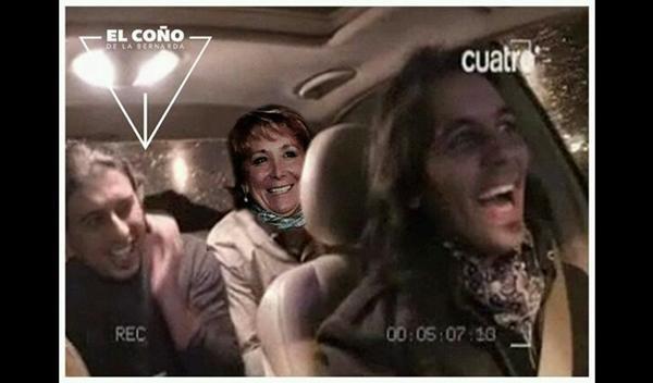 Esperanza Aguirre se marca un Farruquito