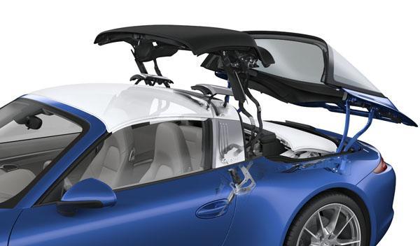 Porsche 911 Targa 2014 techo lona