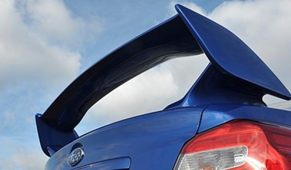 Alerón del Subaru WRX STI